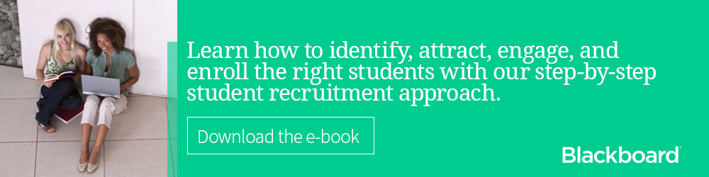 Learn how to attract & enroll the right students with our student recruitment e-book