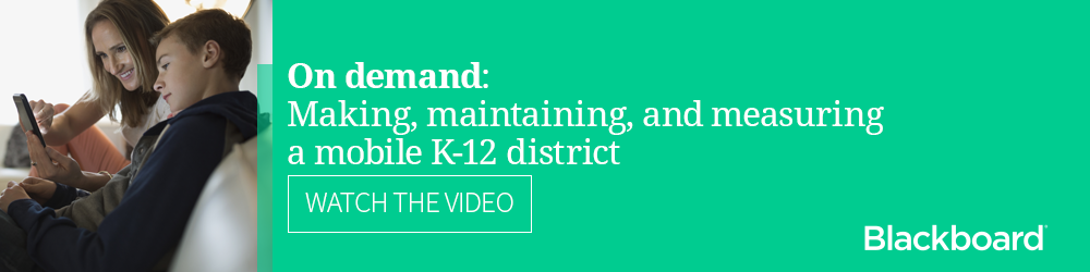 Video: Making, maintaining, and measuring a K-12 mobile district